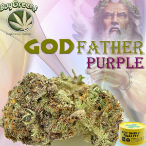 Godfather Purple Kush - BuyGreens.online