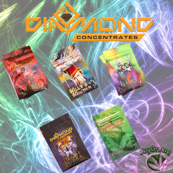 Diamond Concentrates - Indica