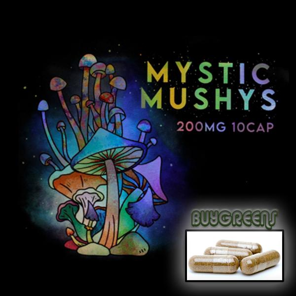 Mystic Mushys Capsules - BuyGreens.Online